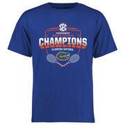 Men's Royal Florida Gators 2016 SEC Men's Tennis Champions T-Shirt