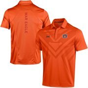 Men's Under Armour Orange Auburn Tigers 2015 Coaches Sideline Scout Polo