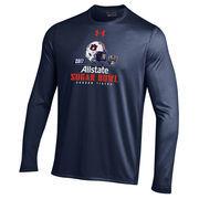 Men's Under Armour Navy Auburn Tigers 2017 Sugar Bowl Bound Long Sleeve T-Shirt