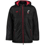 Men's Under Armour Black Cincinnati Bearcats Event Stadium Performance Jacket