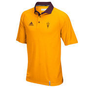 Men's adidas Gold Arizona State Sun Devils climachill Polo