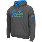 Men's Stadium Athletic Charcoal UCLA Bruins Big Logo Pullover Hoodie