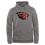 Gray Oregon State Beavers Classic Primary Pullover Hoodie