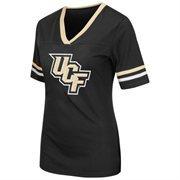 Women's Colosseum Black UCF Knights Aurora Short Sleeve T-Shirt