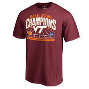 Men's Fanatics Branded Maroon Virginia Tech Hokies 2016 Belk Bowl Champions T-Shirt
