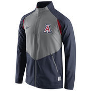 Men's Nike Navy Arizona Wildcats 2015-2016 On-Court HyperElite Dri-FIT Game Jacket