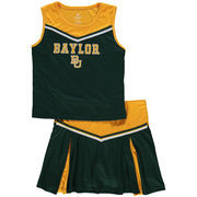 Girls Youth Colosseum Green Baylor Bears Aerial Cheer Set