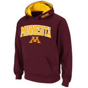Men's Stadium Athletic Maroon Minnesota Golden Gophers Arch & Logo Pullover Hoodie