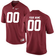 Men's Crimson Alabama Crimson Tide Custom Jersey