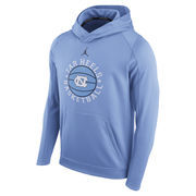 Men's Brand Jordan Carolina Blue North Carolina Tar Heels Circuit Basketball Hoodie