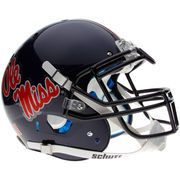 Schutt Ole Miss Rebels Full Size Authentic Helmet