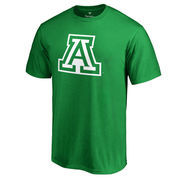 Men's Fanatics Branded Kelly Green Arizona Wildcats St. Patricks Day Team Logo T-Shirt