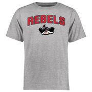 Men's Ash UNLV Rebels Proud Mascot T-Shirt
