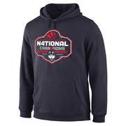 Men's Navy UConn Huskies 2016 NCAA Women's Basketball National Champions Logo Pullover Hoodie