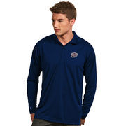 Men's Antigua Navy UTEP Miners Exceed Long Sleeve Polo