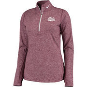 Women's Nike Maroon Montana Grizzlies Element Quarter-Zip Jacket