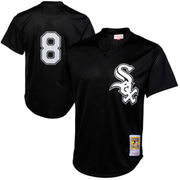 Men's Mitchell & Ness Bo Jackson Black Chicago White Sox 1993 Authentic Cooperstown Collection Batting Practice Jersey