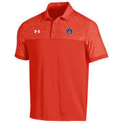 Men's Under Armour Orange Auburn Tigers 2016 Coaches Podium Performance Polo