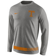 Men's Nike Gray Tennessee Volunteers All Gray Long Sleeve T-Shirt