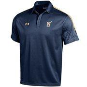 Men's Under Armour Navy Navy Midshipmen 2015 Coaches Sideline Huddle Polo