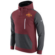 Men's Nike Cardinal/Charcoal Iowa State Cyclones AV15 Fleece Pullover Hoodie