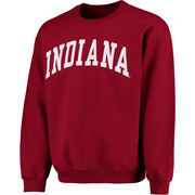Men's Fanatics Branded Crimson Indiana Hoosiers Basic Arch Sweatshirt