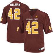 Men's adidas Pat Tillman Maroon Arizona State Sun Devils Event Replica Jersey