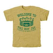 South Florida Bulls Stadium Tri-Blend T-Shirt - Gold