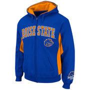 Boise State Broncos Turf Fleece Full Zip Hoodie - Royal Blue