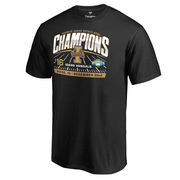 Men's Fanatics Branded Black Idaho Vandals 2016 Idaho Potato Bowl Champions T-Shirt