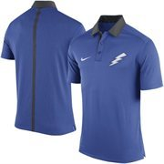 Men's Nike Royal Blue Air Force Falcons Coaches Sideline Performance Polo