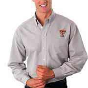 Texas Tech Red Raiders Velocity Oxford Shirt - Gray