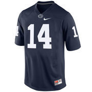 Penn State Nittany Lions Nike No. 14 Replica Football Jersey - Navy Blue