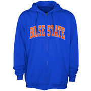 Boise State Broncos Bold Arch Full Zip Hoodie - Royal Blue