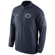 Men's Nike Navy Penn State Nittany Lions Championship Drive Hybrid 1/4 Zip Dri-FIT Performance Jacket