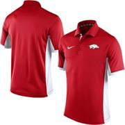 Men's Nike Cardinal Arkansas Razorbacks Team Issue Performance Polo