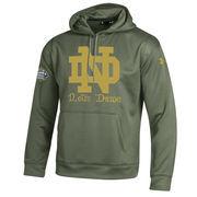 Men's Under Armour Green Notre Dame Fighting Irish 2016 Shamrock Series Armour Fleece Pullover Hoodie