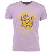 Men's Original Retro Brand Heather Purple LSU Tigers Vintage Tri-Blend T-Shirt