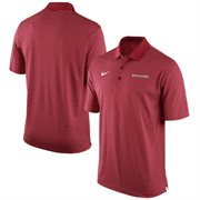 Men's Nike Scarlet Rutgers Scarlet Knights Stadium Stripe Performance Polo