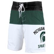 Men's Green Michigan State Spartans Tommy John Boardshorts