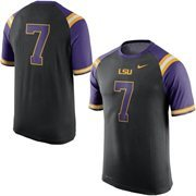 Men's Nike Black LSU Tigers New Day No. 7 Performance T-Shirt