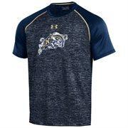 Men's Under Armour Navy Navy Midshipmen Tech Performance T-Shirt