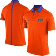 Men's Nike Orange Florida Gators 2015 Coaches Sideline Dri-FIT Polo