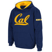 Youth Stadium Athletic Navy Cal Bears Big Logo Pullover Hoodie