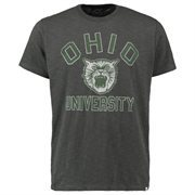 Men's '47 Brand Charcoal Ohio Bobcats Vintage Scrum T-Shirt