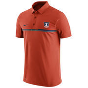 Men's Nike Orange Illinois Fighting Illini 2016 Elite Coaches Sideline Performance Polo