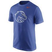 Men's Nike Royal Boise State Broncos Logo T-Shirt