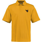Cutter & Buck West Virginia Mountaineers Gold Champions DryTec Performance Polo