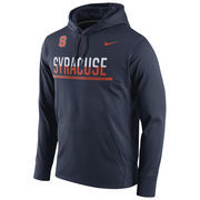 Men's Nike Navy Syracuse Orange Circuit Pullover Performance Hoodie