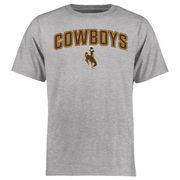 Men's Ash Wyoming Cowboys Proud Mascot T-Shirt